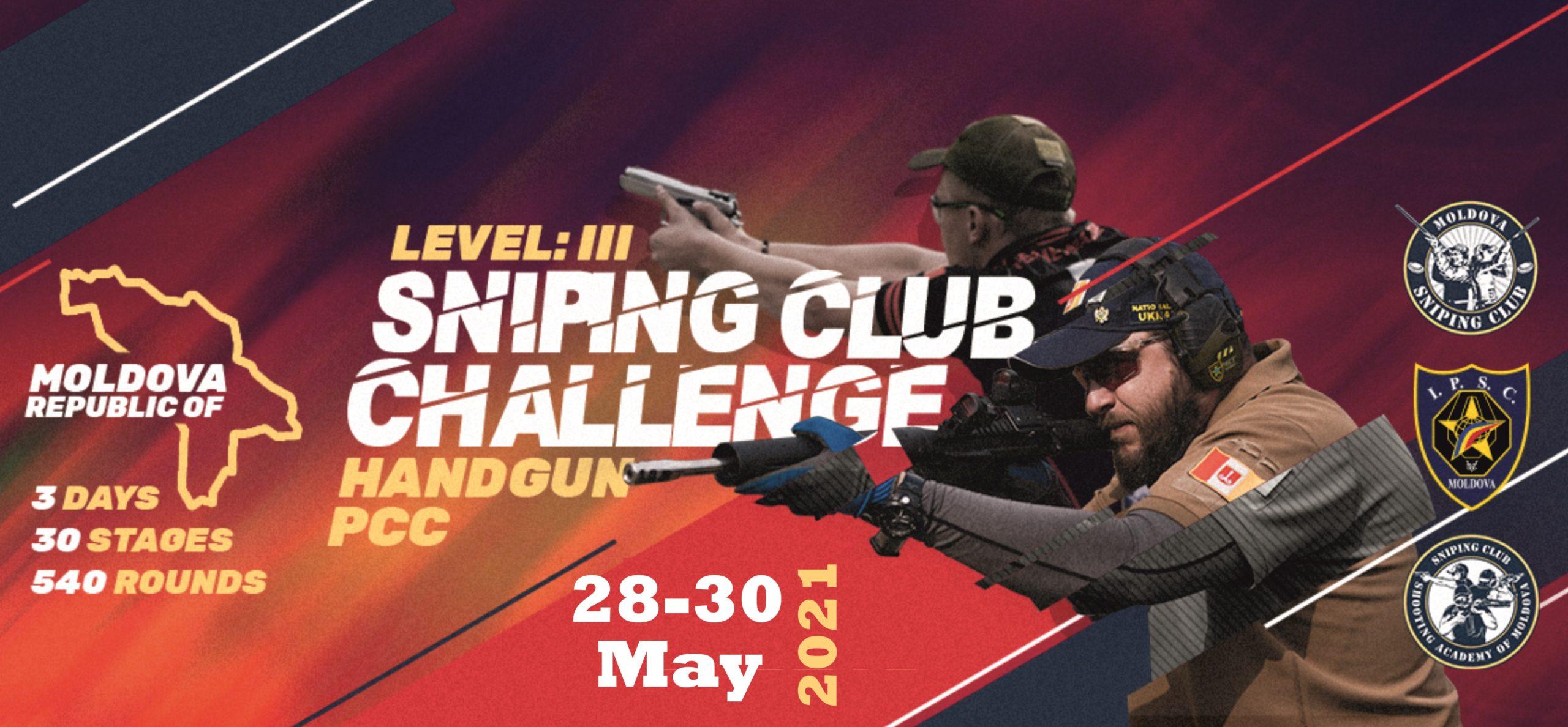 SnipingClub Challenge Handgun, PCC