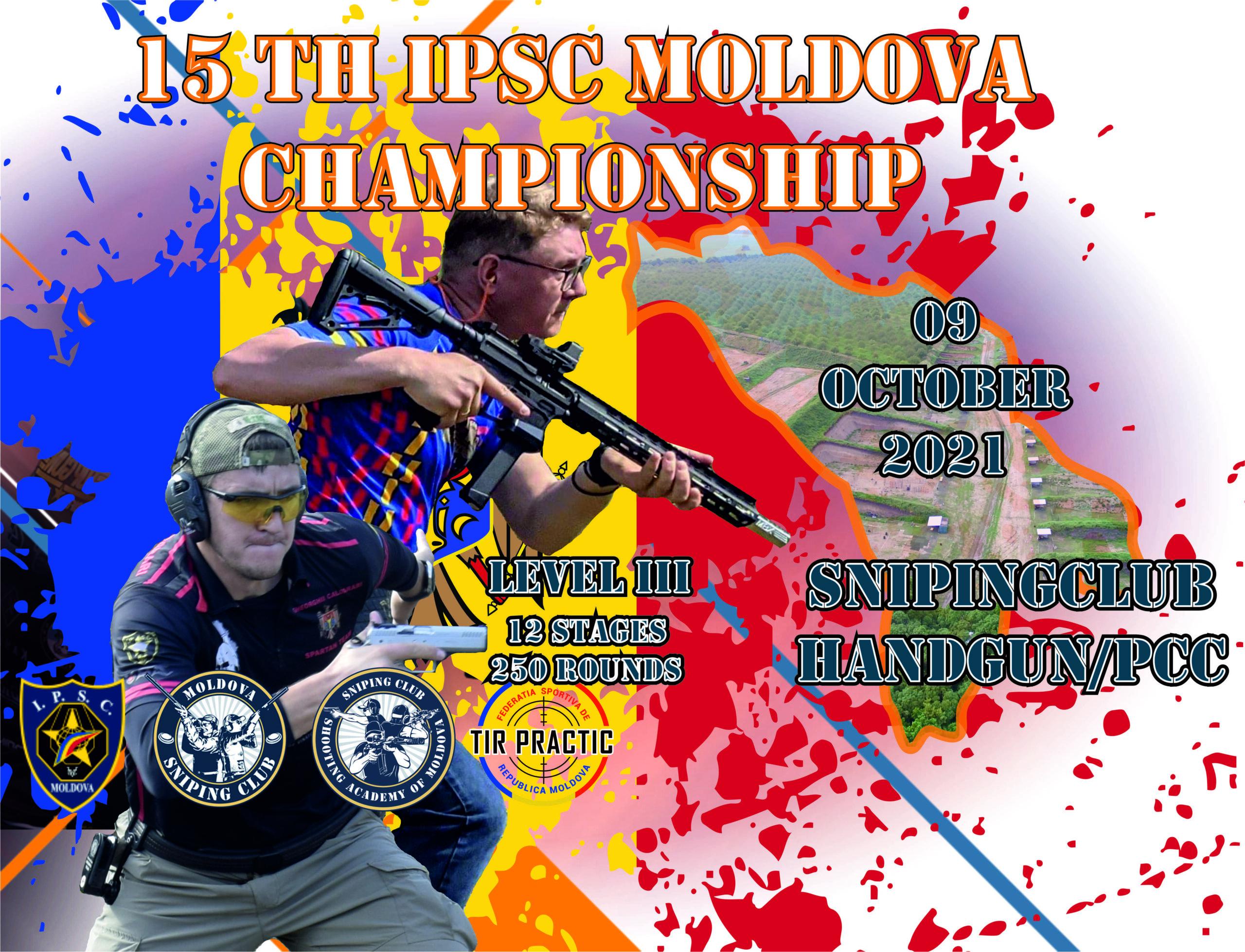 (RU) 15th IPSC Moldova Championship